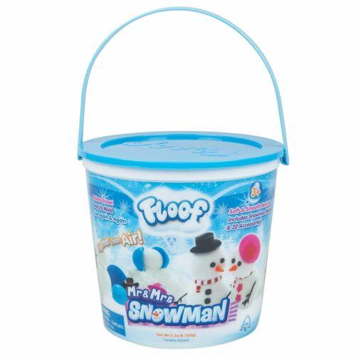 Floof Hópehely gyurma Mr. & Mrs. Snowman hóember készlet