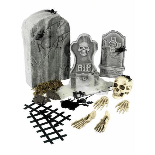 Halloween dekorációkról Sírkamra készlet
