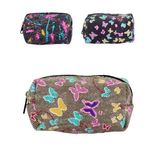 Tesoro Fabric szövet pénztárca több változatban 10x5x4cm
