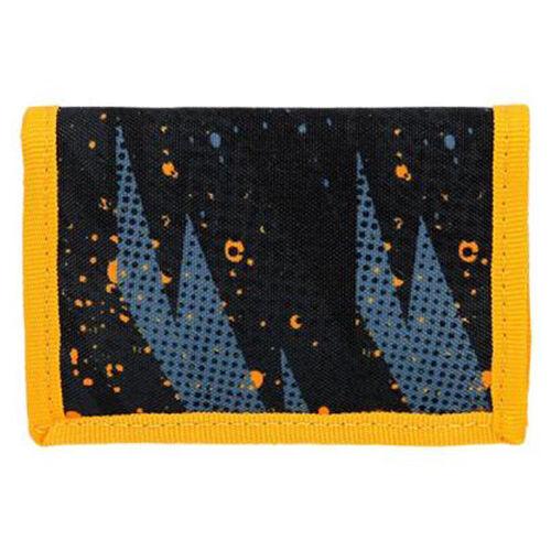 Spirit: Cosmo fekete és kék mintás pénztárca