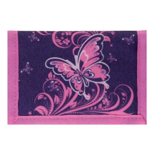 Spirit: Lila pillangó mintás pénztárca