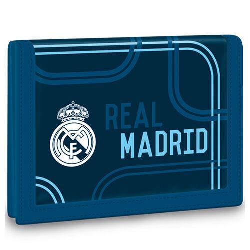 Real Madrid kék színűtépőzáras pénztárca