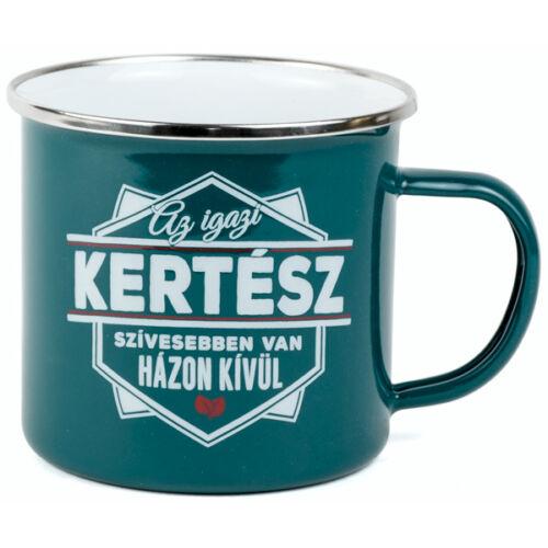 History And Herald Top Pasik fémbögre, Kertész