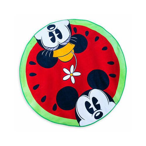 Walt Disney kerek görögdinnye törölköző Mickey és Minnie