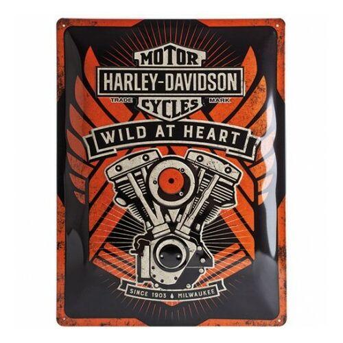 Harly Davidson Wild at Heart fémtábla