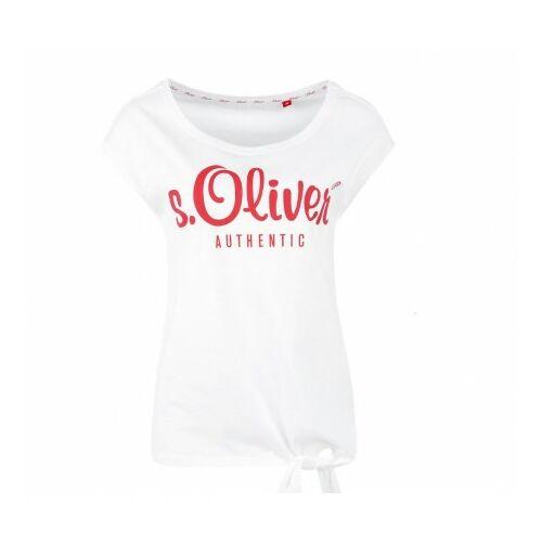 S.Oliver Autentic női póló, Fehér