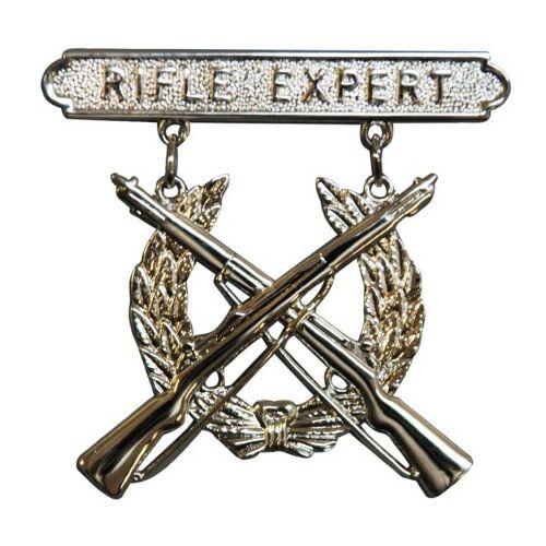 Rifle Expert kitűző
