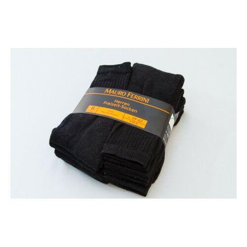 Termékek - Mauro Ferrini zokni fekete 8pár /csomag