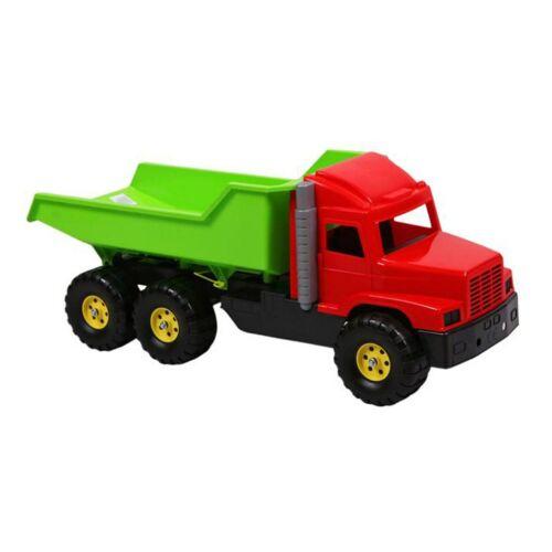 Játék homokozóba - zöld-piros teherautó