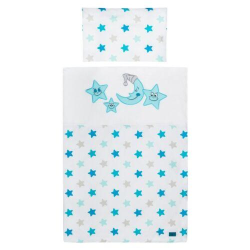 5-részes ágyneműhuzat Belisima Vidám csillagok 100/135 kék