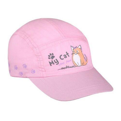 Nyári gyermek baseball sapka New Baby My Cat világos rózsaszín