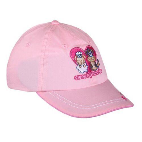 Nyári gyermek baseball sapka New Baby Sweet Pets világos rózsaszín