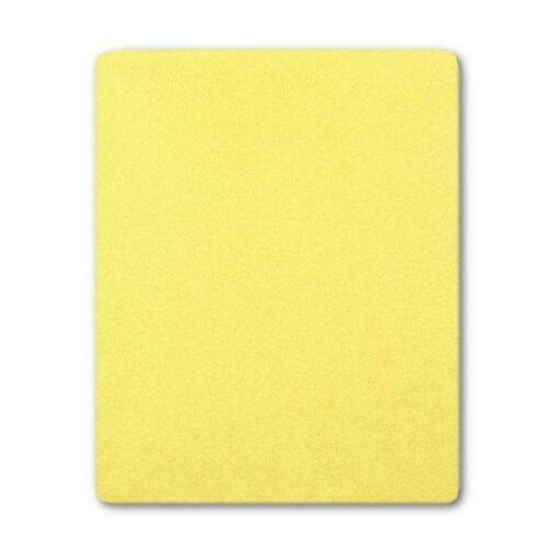 Frottír ágyneműhuzat sárga