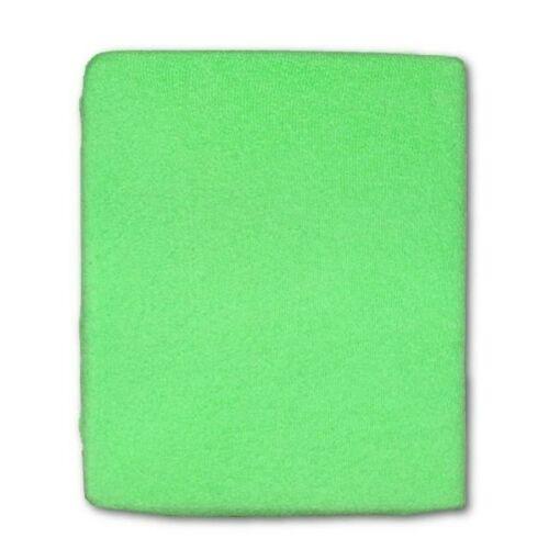 Frottír ágyneműhuzat zöld