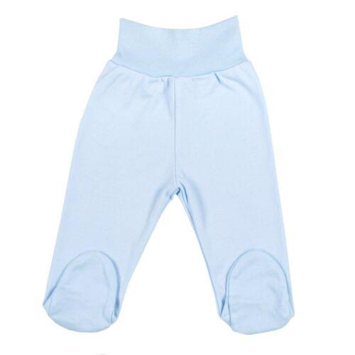 Csecsemő lábfejes nadrág New Baby kék