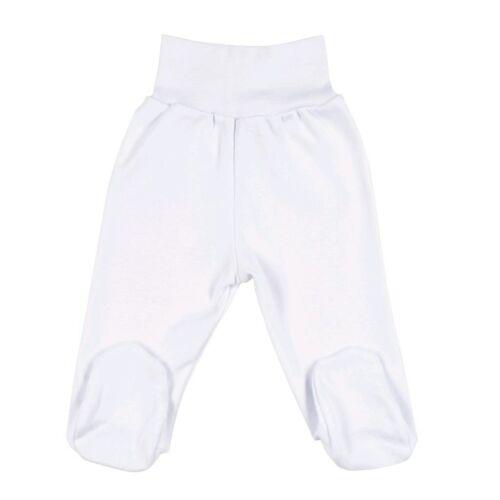 New Baby csecsemő lábfejes nadrág fehér