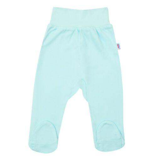New Baby csecsemő lábfejes nadrág türkiz