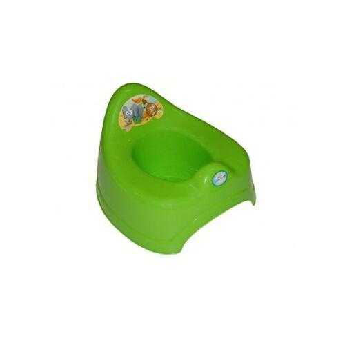 Gyerek zenélő bili szafari zöld