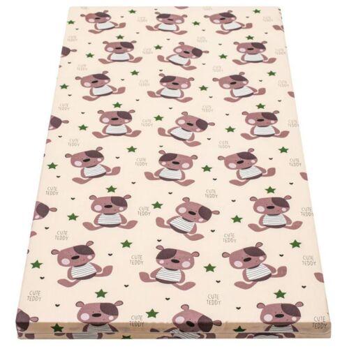 Gyerek habszivacs matrac New Baby 120x60 bézs - különféle minta