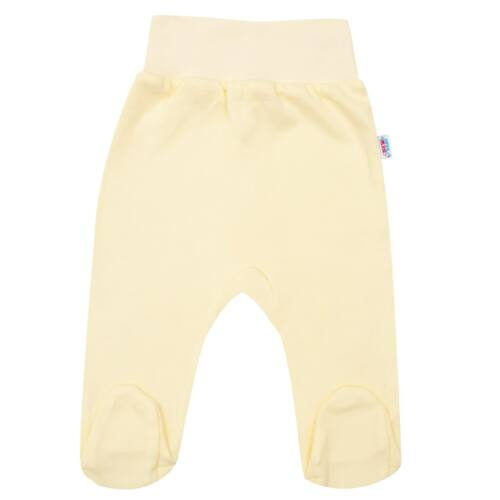 Csecsemő lábfejes nadrág New Baby sárga