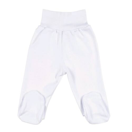 Csecsemő lábfejes nadrág New Baby fehér