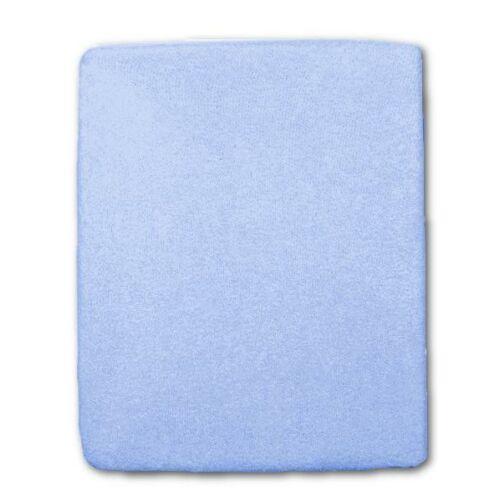 Frottír ágyneműhuzat kék