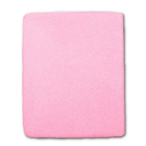 Frottír ágyneműhuzat rózsaszín