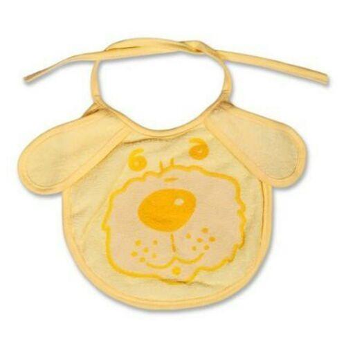 Gyerek előke New Baby sárga