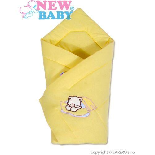 New Baby pólya sárga