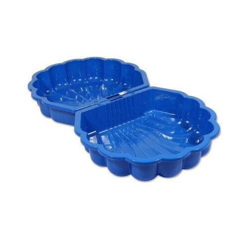 Homokozó - medence Kagyló - 2 darab kék
