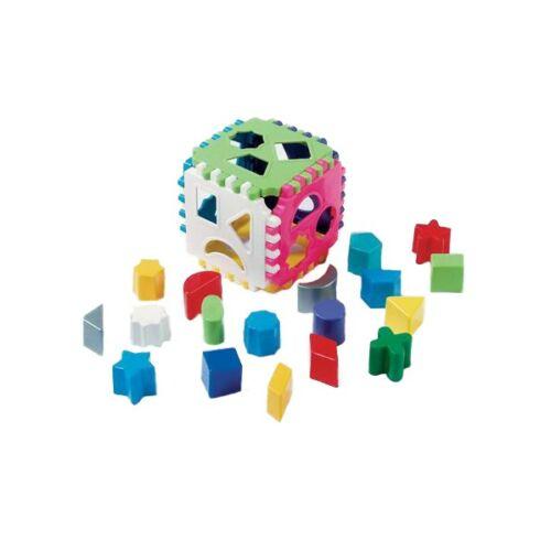 Gyerek formabedobó kocka