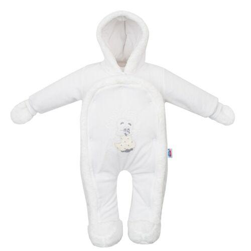Gyerek kezeslábas New Baby süni fehér
