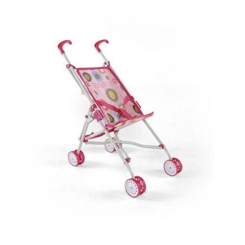 Gyerek golf babakocsi babáknak Milly Mally Julie  rózsaszín-barna
