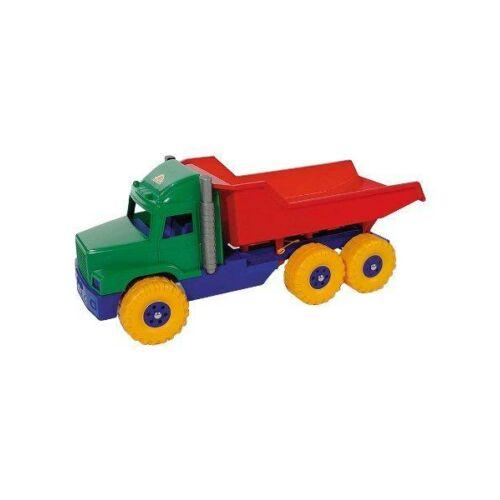 Játék homokozóba - piros-kék teherautó
