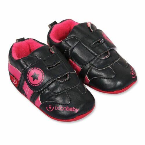 Gyerek cipellő Bobo Baby 6-12h fekete
