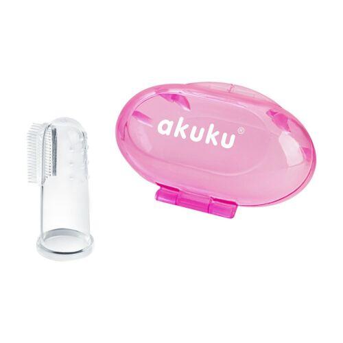 Az első fogkefe Akuku rózsaszín