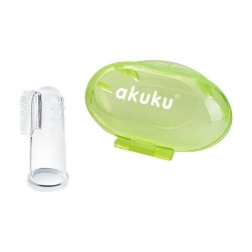 Az első fogkefe Akuku zöld