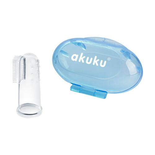 Az első fogkefe Akuku kék