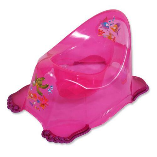 Gyerek csúszásmentes bili aqua rózsaszín