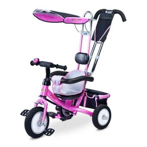 Gyerek tricikli Toyz Derby rózsaszín