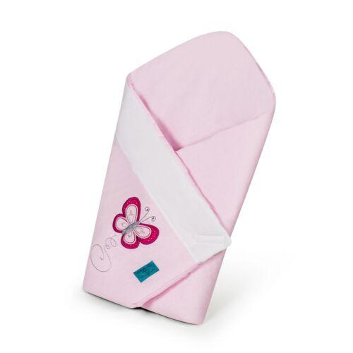 Hímzett pólya Belisima Pillangó rózsaszín