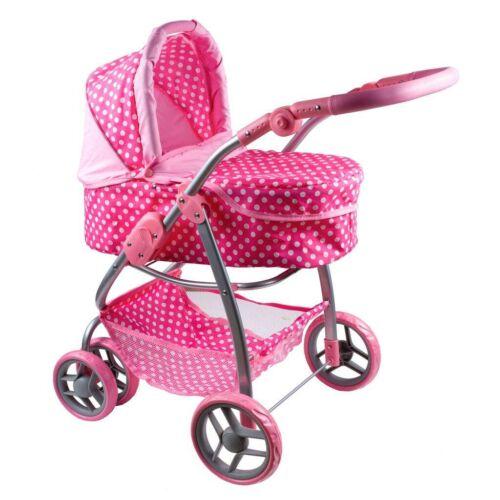 Multifunkciós játék babakocsi PlayTo Jasmínka világos rózsaszín
