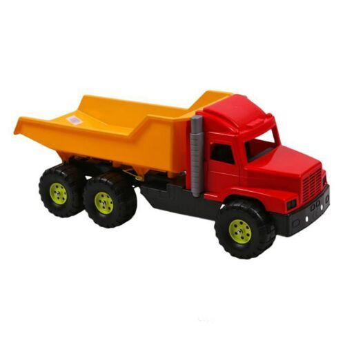 Homokozó játék - Teherautó sárgás-piros