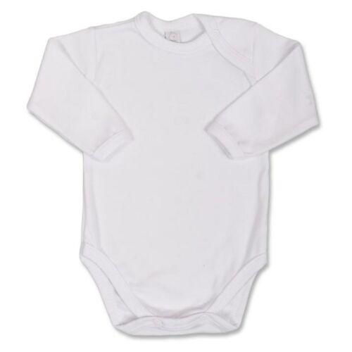 hosszú ujjú baba body Bobas Fashion fehér