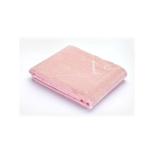 Velúr gyerek pléd Sensillo 80x100 cm rózsaszín