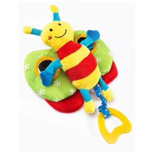 Fejlesztő plüss játék Sensillo pillangó sípolós