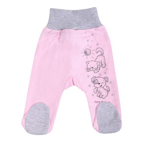 Csecsemő lábfejes nadrág New Baby Barátok rózsaszín
