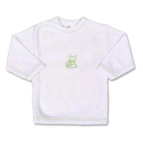 Csecsemő ingecske hímzett képpel New Baby zöld