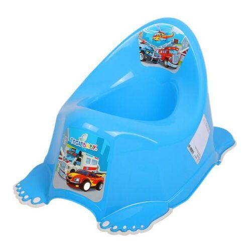 Gyerek csúszásmentes bili Autók kék
