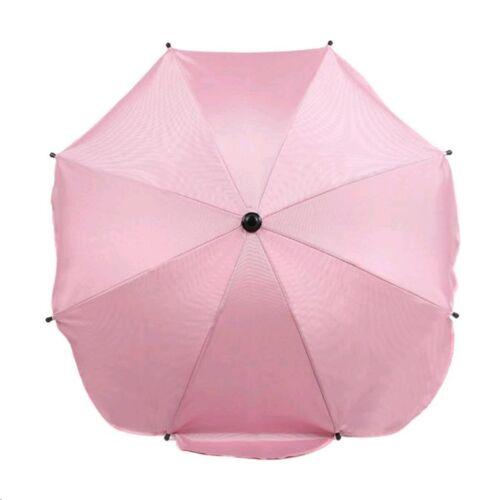 Napernyő babakocsira világos rózsaszín